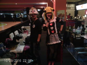ハロウィン2016 KENRIさんとミキティさん