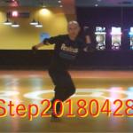 ローラーダンス・Step20180428