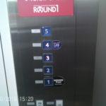 ラウンドワン名古屋西春店エレベーター2
