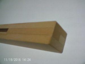 強力六角レンチ補強道具寄木作り