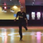ローラーダンス・新しい練習ナンバーダンス13