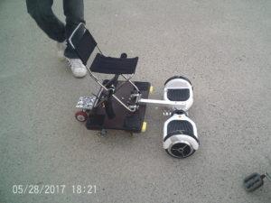 改造バランススクーター2