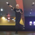 ローラーダンス・パンチ踊り1