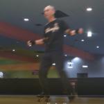 ローラーダンス・サイドステップ+シェイクステップ