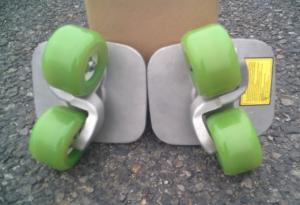 フリーラインスケート・ドリフトスケート緑20200412-8