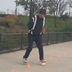 フリーラインスケート・スラローム・ウエーブ