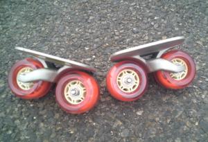 フリーラインスケート・ドリフトスケート赤20200412-1