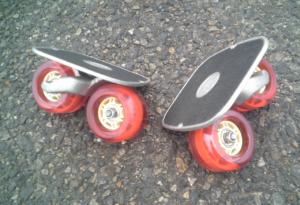フリーラインスケート・ドリフトスケート赤20200412-3