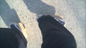 フリーラインスケート・オープンワンエイティの自撮り