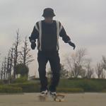 フリーラインスケート・乗る&降りる