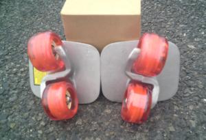 フリーラインスケート・ドリフトスケート赤20200412-8
