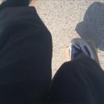 フリーラインスケート・ブラインドワンエイティの自撮り