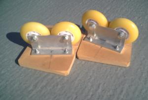 インラインスケート用の80mmウィール5
