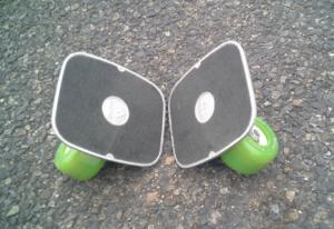 フリーラインスケート・ドリフトスケート緑20200412-7
