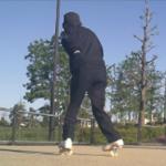 フリーラインスケート・フォアターンとブラインドワンエイティの練習ルーチン
