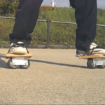 フリーラインスケート・バインドして滑る3
