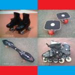 ローラースケート、フリーラインスケート、インラインスケート、ブレイブボード2