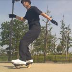 【ブレイブボード】レギュラースタンス・ウェーブとフォアターンの練習!
