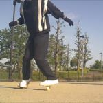 【フリーラインスケート】ブラインドワンエイティの連続技!