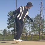 フリーラインスケート・バックターンとオープンワンエイティの練習ルーチン