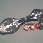 ブレイブボードとフリーラインスケート1