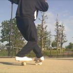 【フリーラインスケート】オープンワンエイティの連続技!