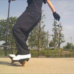 【ブレイブボード】グーフィースタンス・ウェーブとフォアターンの練習!