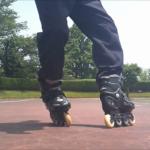 インラインスケート・グレープバインを踊ろう!