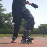 インラインスケート・移動バックターンを踊ろう!